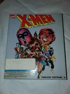 X-MEN-Vintage-Computer-Game-Software-Paragon-1989-Madness-in-Murder-World