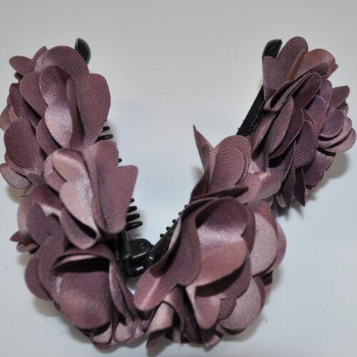 Épingle à cheveux 2 fleurs satin zopfhalter Bijoux de cheveux pince à cheveux épingle à cheveux NEUF