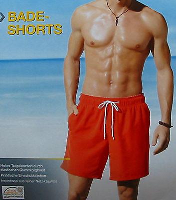 NEU Herren Badeshorts Badehose Boardshorts Herren Shorts Bermuda Rot  XL/7