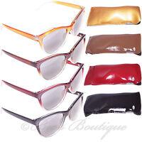 Eye Time Large Reading Sun Glasses Ladies +1 +1.5 +2 +2.5 +3 ET1098 Vintage