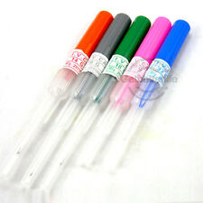 Pro New 5Pcs Sterilized Piercing Needle 14G,16G,18G,20G Gauge
