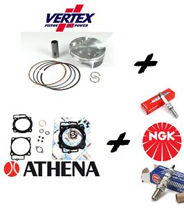Details about Kit PISTON VERTEX + Sealing Set + NGK SPARK PLUG KAWASAKI KX  250 F/2009- show original title