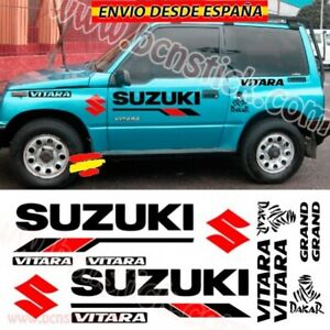 Kit-Vinilos-Adhesivas-Decal-Stickers-Coche-4x4-Suzuki-Vitara