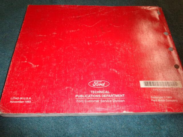 1994 Mercury Villager Wiring Diagram Vacuum Shop Manual