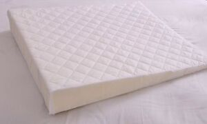 Multi-Purpose-SLEEP-WEDGE-with-Quilted-Cover-Foam-Support-Pillow-Acid-Reflux