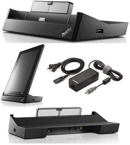 Lenovo ThinkPad Tablet Docking Station 0A33965 with 65W Power Supply -