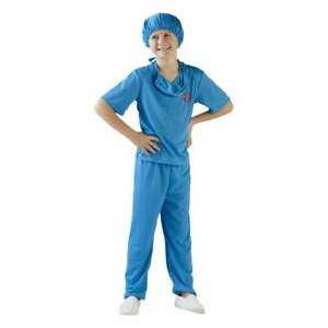 NEW SpartysParty Creator Surgeon Kid's Costume By Spotlight
