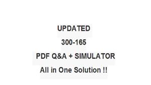 IMPLEMENTING CISCO DATA CENTER UNIFIED FABRIC 300-165 Exam QA PDF/&Simulator