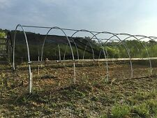 Used Greenhouses 100 foot long @14 wide @9 tall Pipe