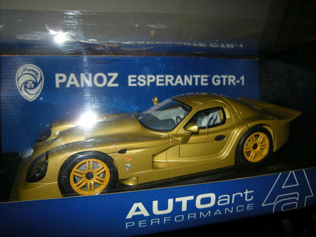 1 1 1 18 Autoart Panoz Esperante GTR-1 Street Car 1998 gold Nr. 78202 in OVP ca7ee5