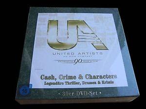 30-DVD-SET-CASH-CRIME-amp-CHARACTERS-UNITED-ARITIST-JUBILAUMS-BOX-incl-LENNY