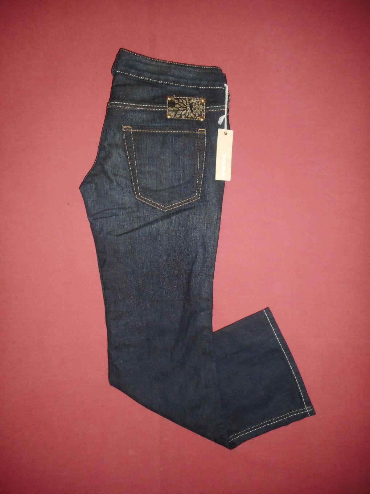 BNWT Diesel RYOTH 008AB - W29 L32 Bootcut - Ladies Womens bluee Denim Jeans