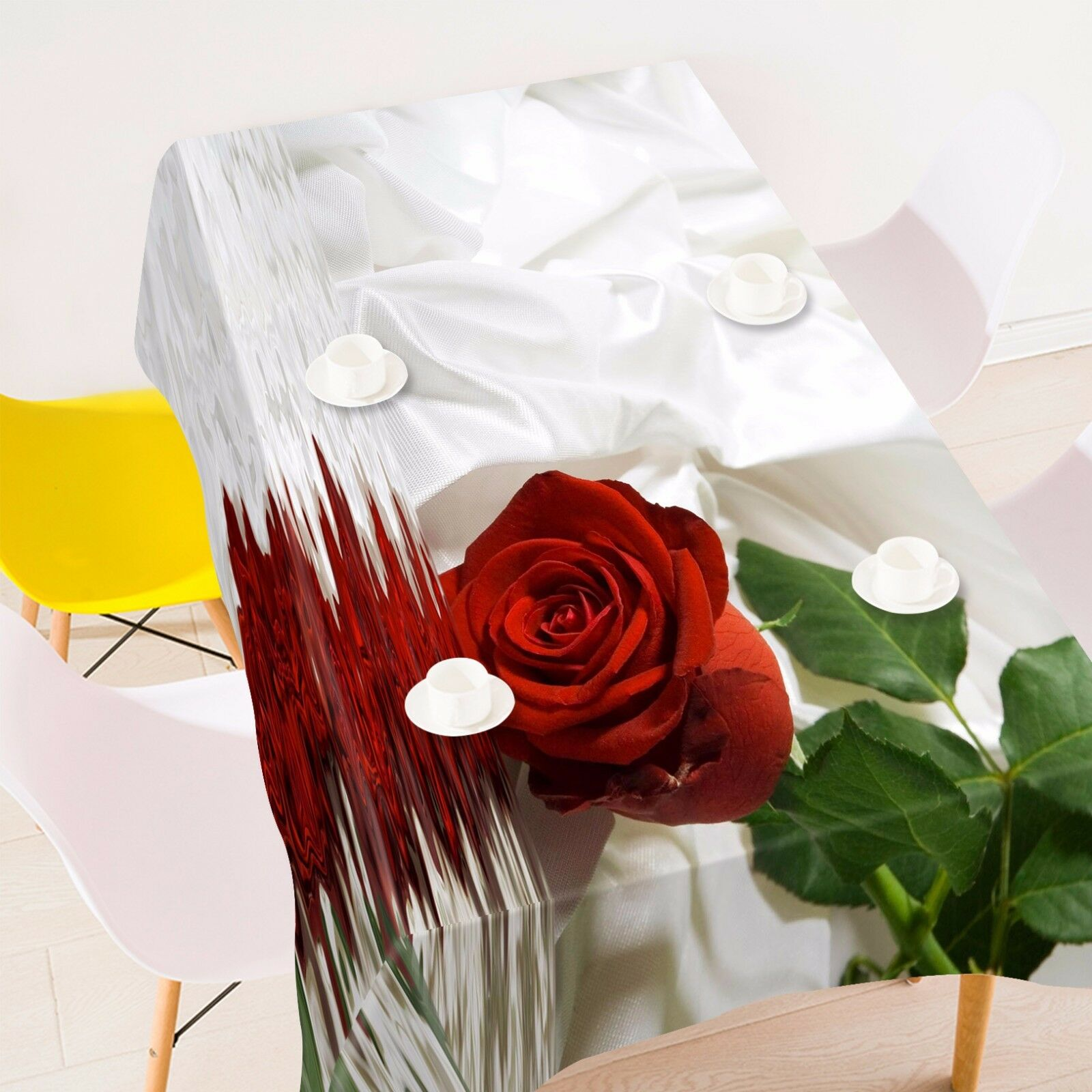 3D Rose 889 Tablecloth Table Cover Cloth Birthday Party Event AJ WALLPAPER AU
