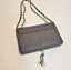 thumbnail 5 - Bebe Black Crossbody Purse Gold Hardware Handbag