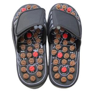 5c38b5bc9d46 Image is loading Women-Men-Slipper-Sandal-Massage-Slippers-Acupuncture-Foot-