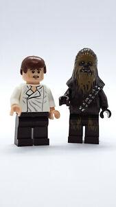 Han Solo NEU // NEW 6179pb154 Lego Fliese schwarz 4x4-20 years Star Wars