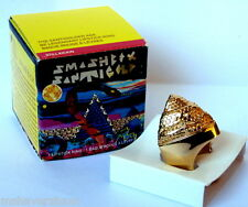 NIB Smashbox Santigolden Age Be Legendary Lipstick Snake Pyramid Ring Santigold