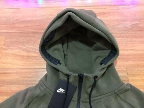 capuche polaire Nouveau en Vert Nike intégrale olive 222 Sportwear Veste pour homme à Modern 835858 Rwxp5H