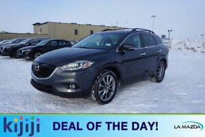 2015 Mazda CX-9 AWD GT Accident Free,  Leather,  Heated Seats,  3rd Row,  Sunroof,  Back-up Cam,  Bluetooth,