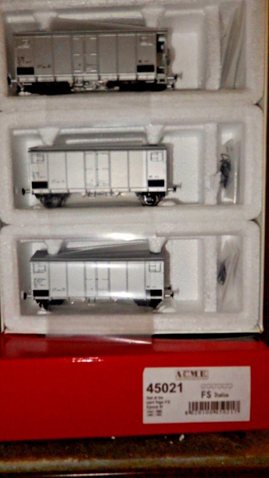 ACME 45021 Set 3 carri Hg passo corto con garitta + passo lungo + passo lungo FS