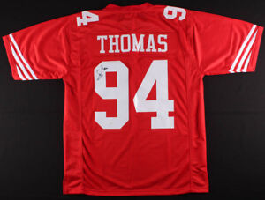 meet 862a9 d7fa1 Details about Solomon Thomas Signed 49ers Jersey (JSA COA) 2017 #3 Overall  Pick NFL Draft D.E.