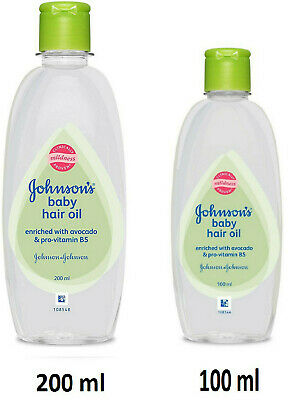 Johnson S Baby Hair Oil For Hair Growth Soft And Silky Touch Avocado Ebay