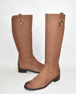 6de73ab4bc8 Details about Blondo 'Velvet' Waterproof Riding Boot Cognac Nubuck Leather  B5125 Size 10
