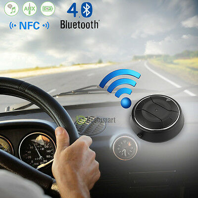 G7 Bluetooth Wireless 4.0 Music Receiver 3.5mm Adapter Handsfree Car AUX Speaker