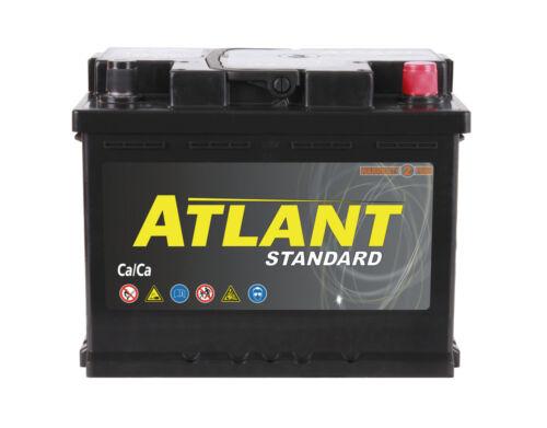 Starterbatterie 62Ah 12V 560A//EN ATLANT TOP ANGEBOT SOFORT /& NEU 62 Ah