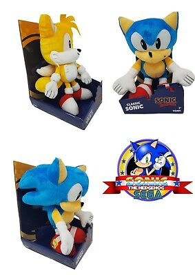 Tomy Official Sonic The Hedgehog Or Tails 12 Inch Classic Plush Toy Gift Boxed Ebay