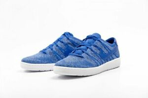 Nike-Tennis-Flyknit-UK-Size-7-Men-039-s-Trainers-Blue-White-Shoes