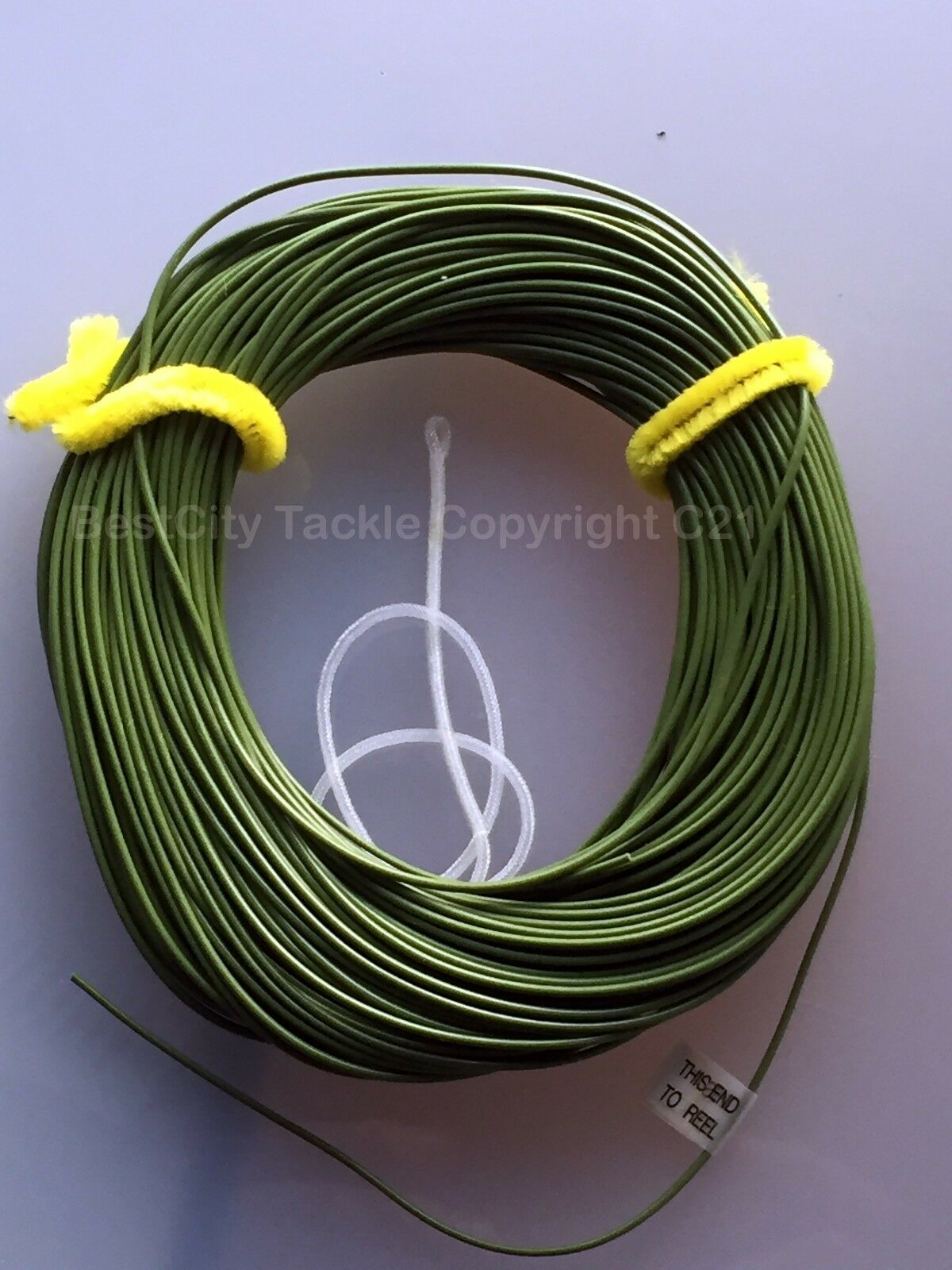 """Premier Quality DT7 Fly Fishing Line Double Taper /""""Ivory White/"""" UK"""