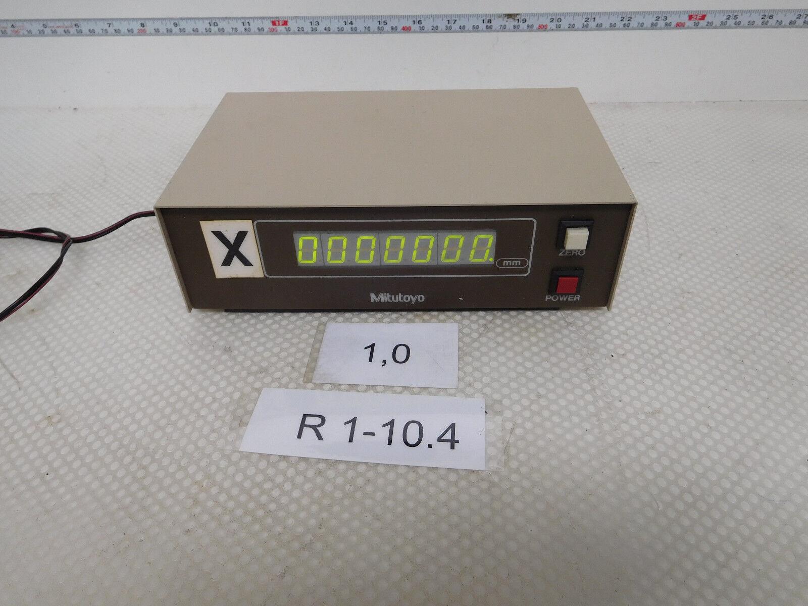 Mitutoyo SD-D1, Mitutoyo Code 572-001, Digital Display for Xyz Axle