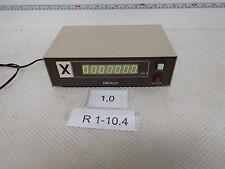 Mitutoyo SD-D1, Mitutoyo Code 572-001, Digitalanzeige für XYZ Achse