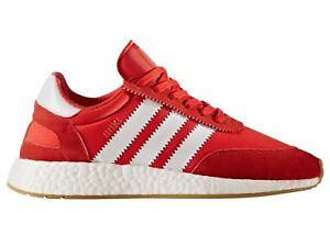 Adidas Iniki Runner I-5923 Mens BB2091 Red White Gum Running Shoes ... 09a6c3521