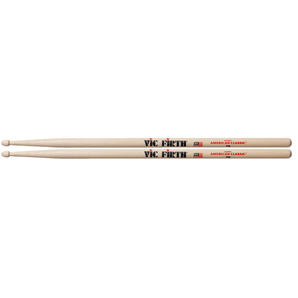 RT42642 Hickory Drumsticks 7A Wood Tip CHORD