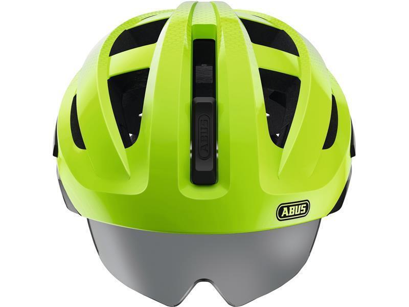 Abus en-vizz ascent verde Comb m casco de bicicleta