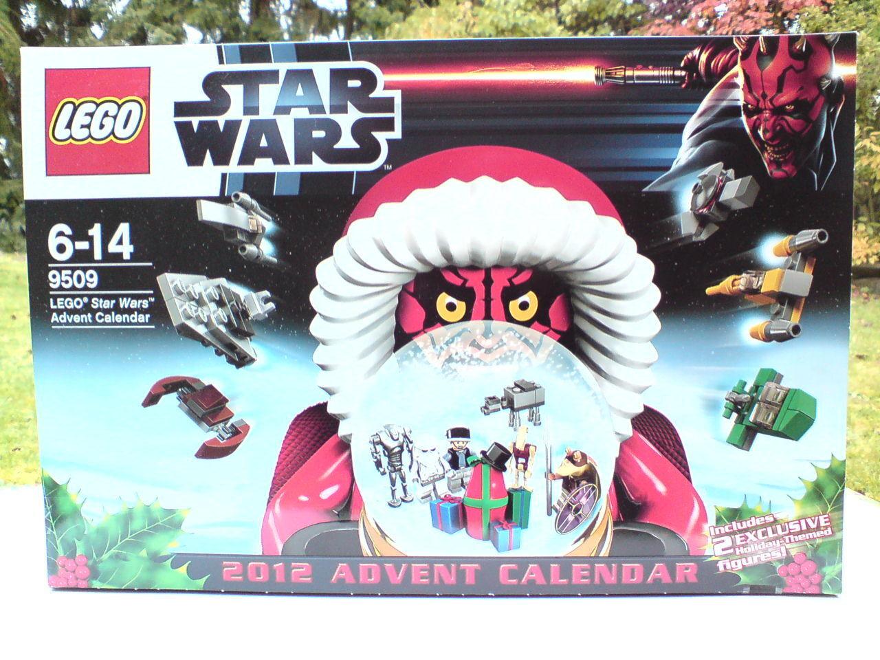Lego 9509 Star Wars adventskalender neu     ovp Beste Zustand rar mint von 2012 +++ 3a7553