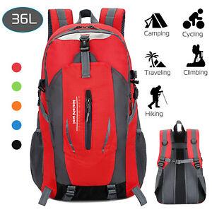 36L-Hiking-Backpack-Outdoor-Camping-Rucksack-Waterproof-Shoulder-Travel-Bag