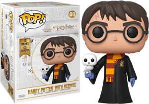 HUGE-18-inch-Harry-Potter-with-Hedwig-Funko-Pop-Vinyl-New-in-Box