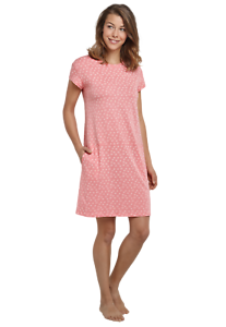 161040-526 Schiesser Damen Sleepshirt 1//4 Arm 90 cm