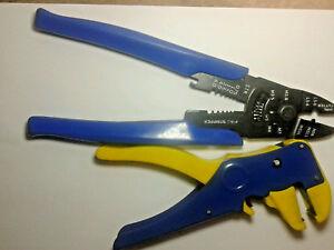 Draper-Tools-Set-Pinza-Crimpatrice-e-Spelafili-Pinze-per-Crimpare-Acciaio-33079