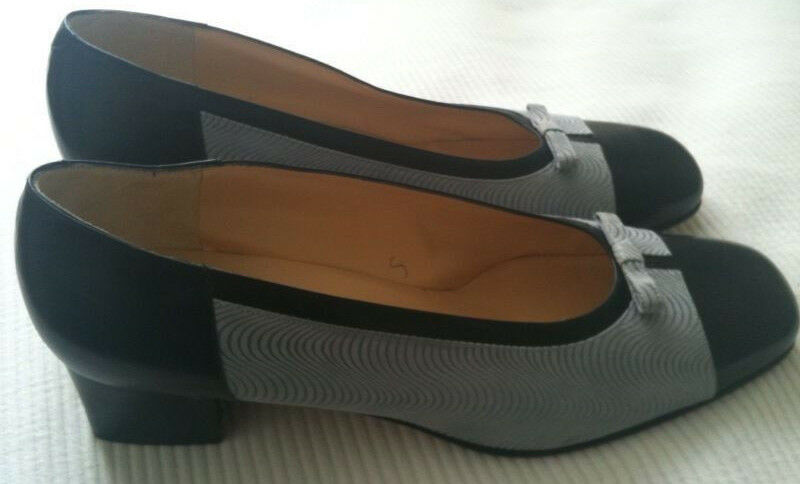JEAN THIOT- shoes BIcolor - POINTURE  40 -  ENVOI FRANCE GRATUIT