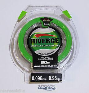 RIVERGE-50-MT-Filo-Colpo-Speciale-Competizione-Fluorocarbon-Invisible-in-Water