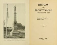 1913 JEROME TOWNSHIP, UNION County Ohio OH, History and Genealogy DVD B14
