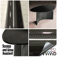 Vvivid Black Epoxy High-gloss Carbon Fibre Pre-laminate Scratch-resistent Vinyl