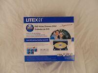 Liteon Lh-20a1s12c 20x Dvd Cd Rw W/blk & Wht Bezel Retail Box 5b M