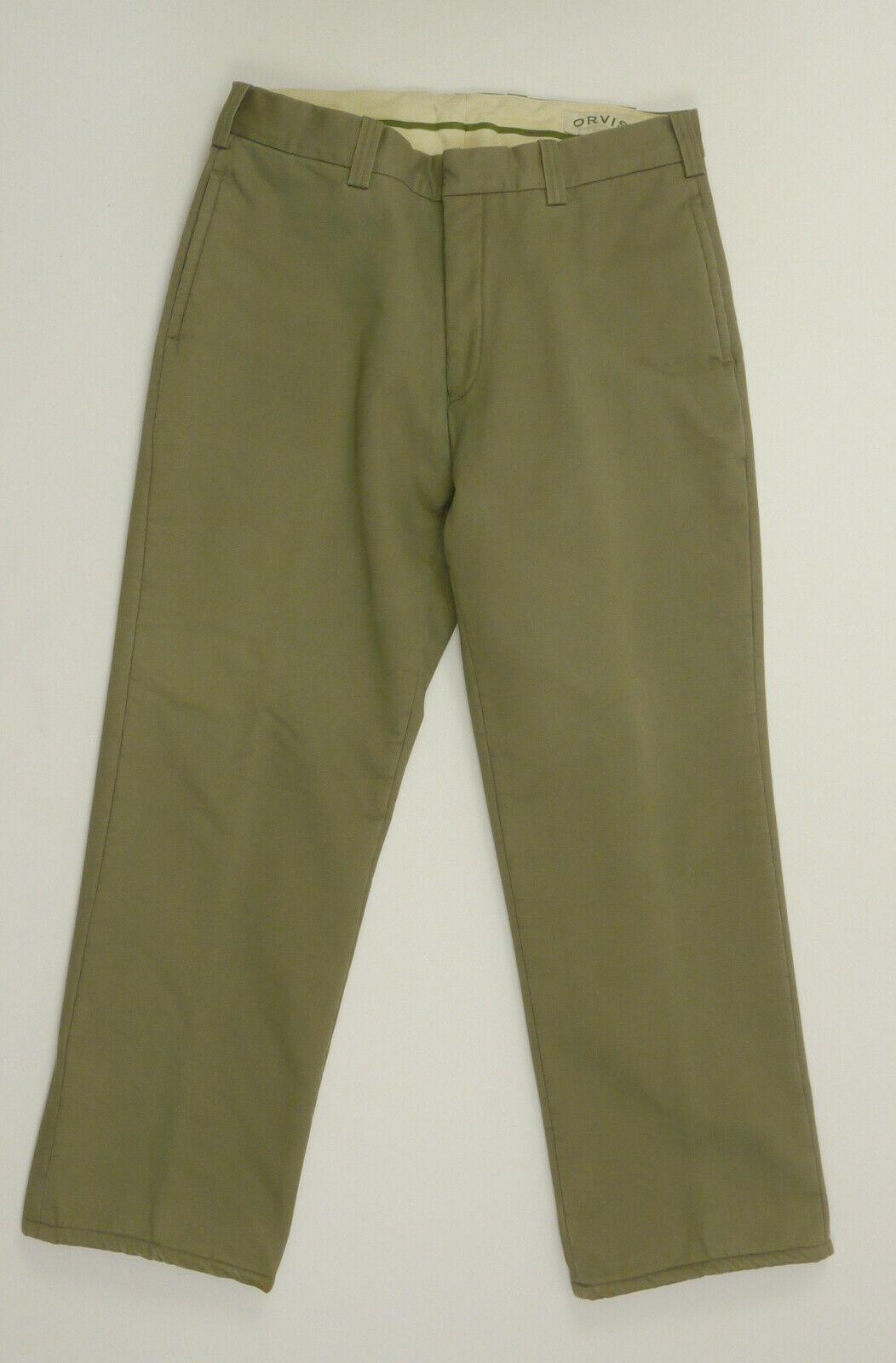 Orvis Fleece Lined pants 36