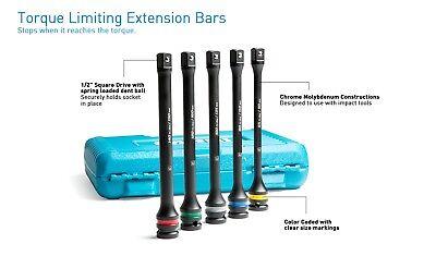 10p Wheel Rim Lug Nut Extension TORQUE LIMITER LIMITING STICKS KIT Impact Gun