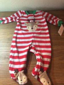 0f1ad4af3 Carters Christmas Reindeer Baby Footie Pajama